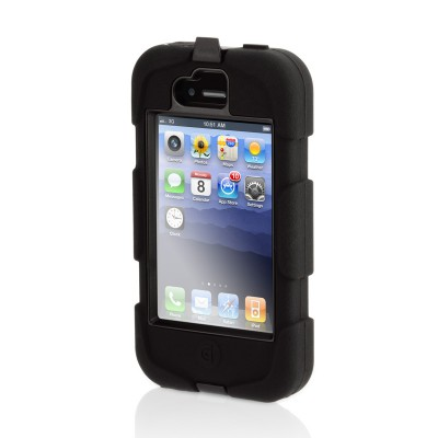 Griffin Survivor iPhone 4 Black - 2