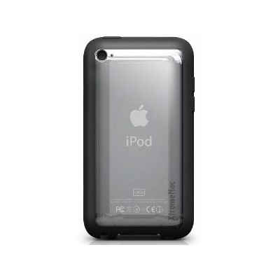 Xtreme Mac MicroShield iPod TOuch 4G Black/Clear