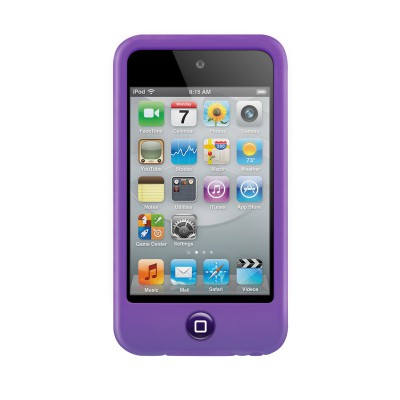 SwitchEasy Silicon Colors iPod Touch 4G Purple - 2