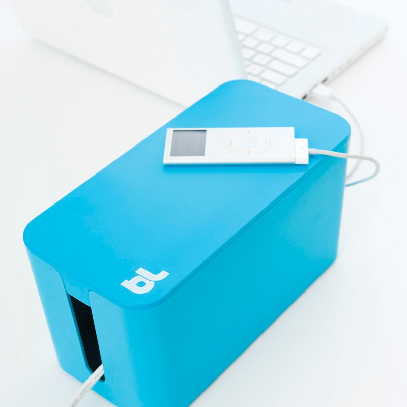 Bluelounge Cablebox Mini Blue - 3