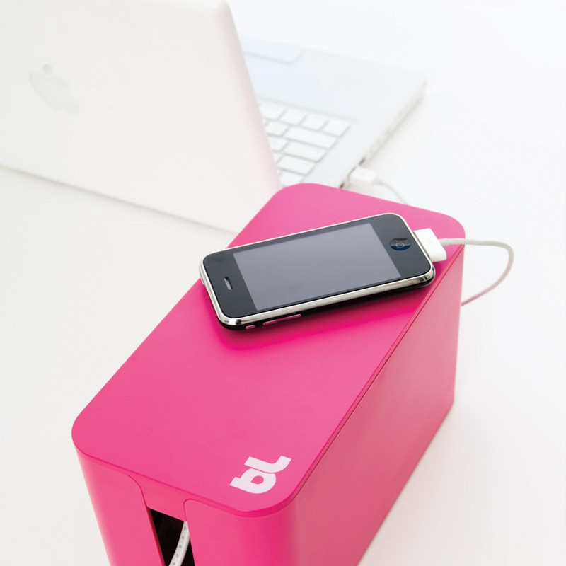 Bluelounge Cablebox Mini Pink  - 3