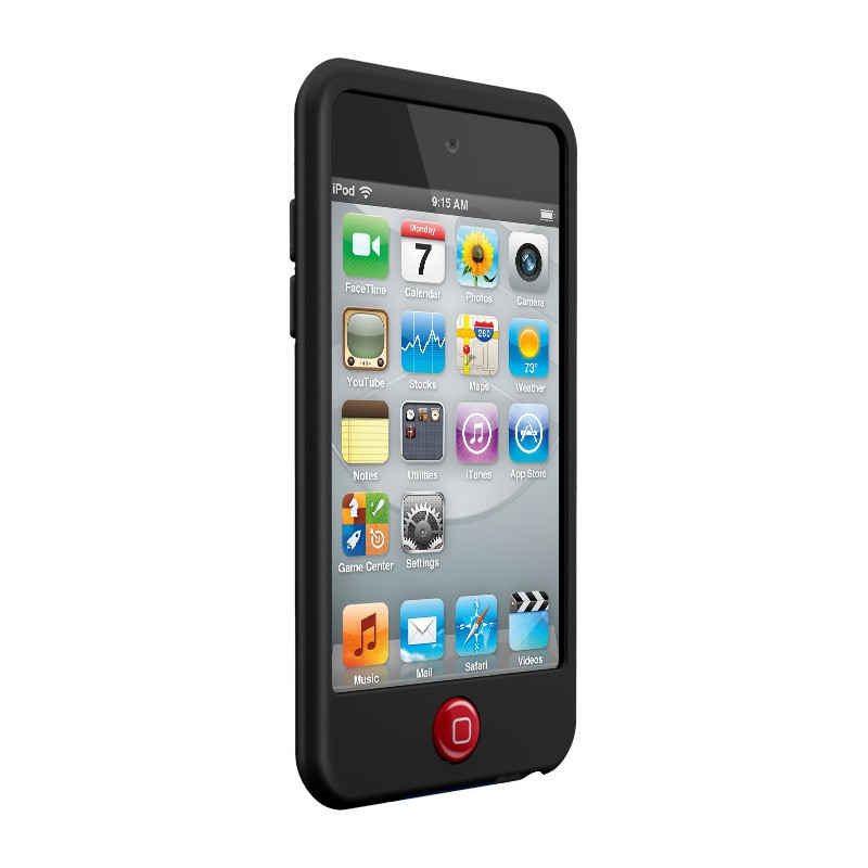SwitchEasy Silicon Colors iPod Touch 4G Black - 3