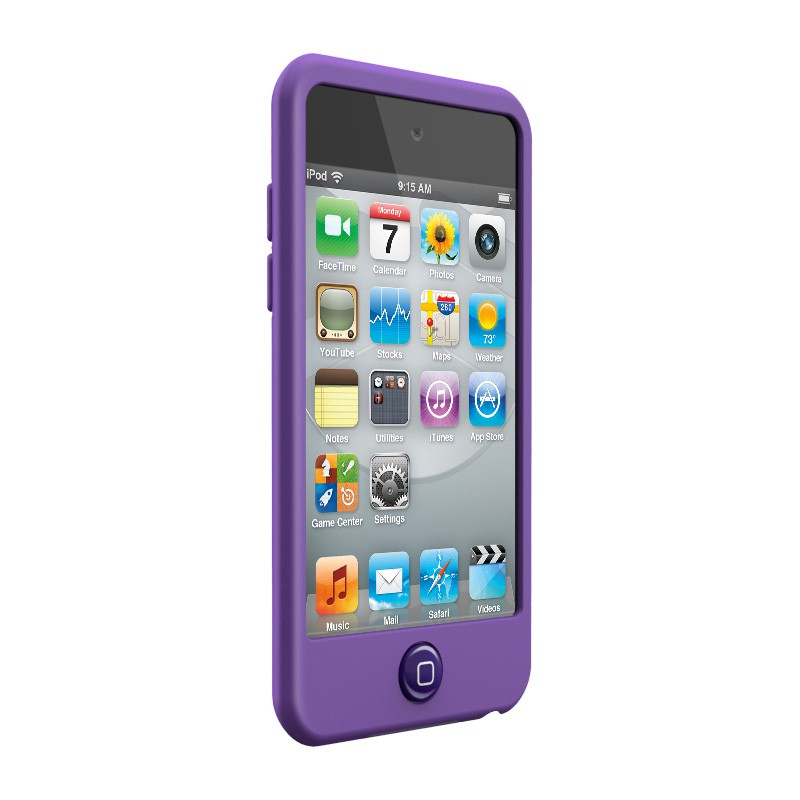 SwitchEasy Silicon Colors iPod Touch 4G Purple - 3