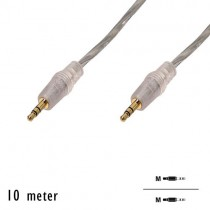 "OEM - Audio kabel ""Jack 3.5mm"" M/M (10 Meter)"